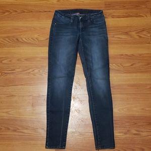 Womens jean leggings size 2 regular